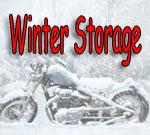 Winter Motorcycle Storage