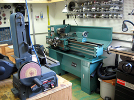 Machine Shop for Custom Fabrication