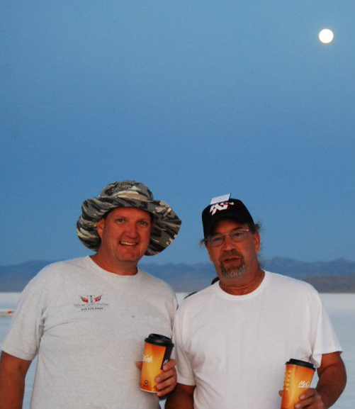Joe Chuck at Bonneville Salt Flats