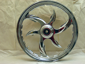 This 19 inch wheel looks as good as a 21 but its much stronger